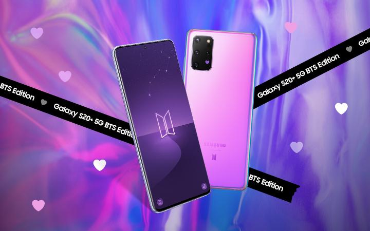 Galaxy S20+ 5G BTS Edition 사전예약